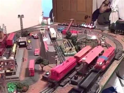 lionel layout youtube lionel train small postwar layout 4x6 youtube