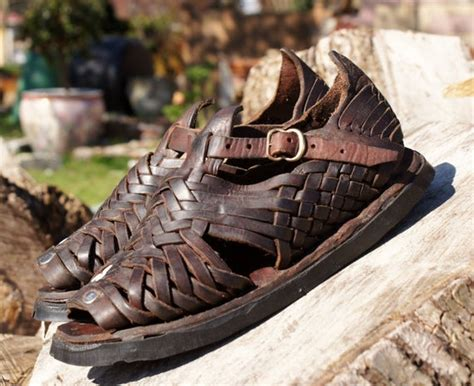 mexican leather tire tread huaraches