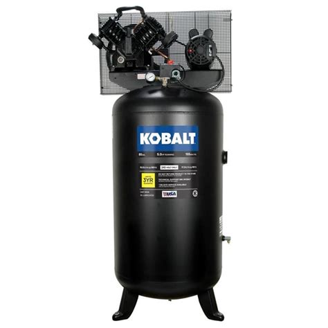 kobalt tq3126 5 hp 80 gal 155 psi stationary electric air compressor lowe s canada