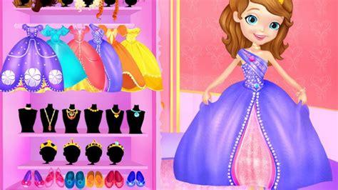 Disney Princess Sofia Makeover Video Play-Girls Games ... Kids Games For Girls Disney Free Online