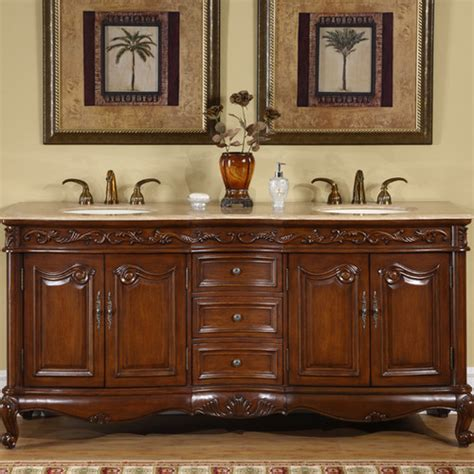 silkroad exclusive nassau 72 quot bathroom vanity set