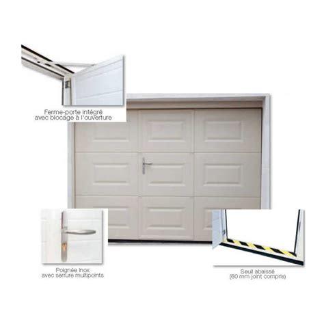 porte garage prix devis en ligne porte de garage sectionnelle sur mesure