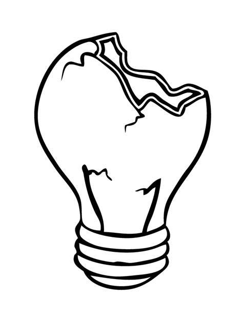 light bulb coloring page light bulb coloring printable coloring pages
