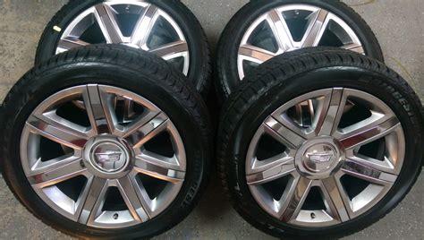"22"" Cadillac Escalade 7 Silver and Chrome Bar OEM"