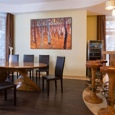 Dining Room Paintings | oil paintings for dining rooms traditional dining room 17