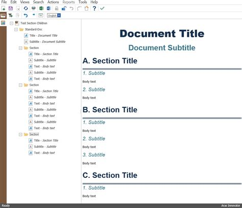 Styling Aras Tech Docs Numbering Content Aras Open Plm