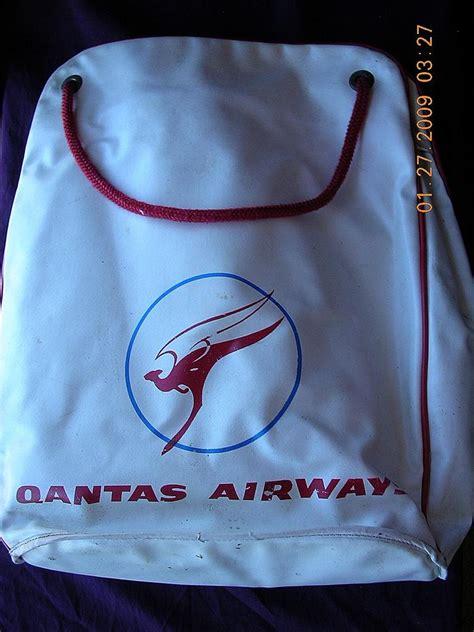 Qantas Cabin Bag by Vintage Qantas Airways Cabin Bag Sold On Ruby