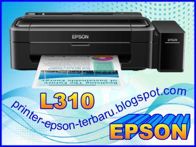Printer Epson Untuk Kertas F4 printer epson l310 lu tinta dan kertas berkedip