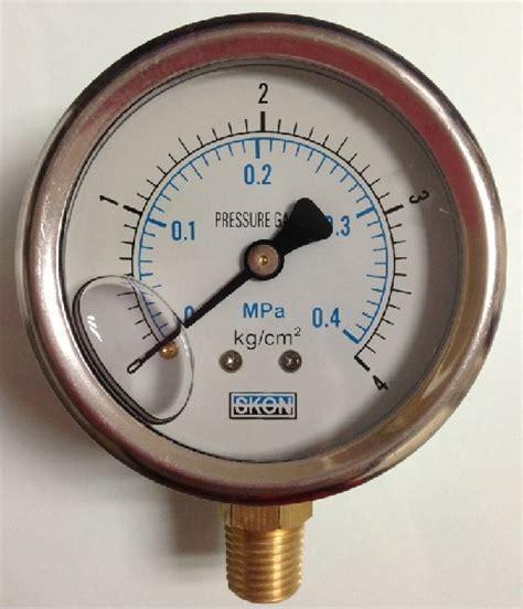 Manometer 4kg 1 4 stainless steel pressure meter manometer 0 0 4mpa 0