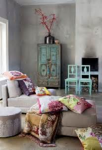 Boho Style Home Decor by 20 Amazing Bohemian Chic Interiors Grey Walls Grey And