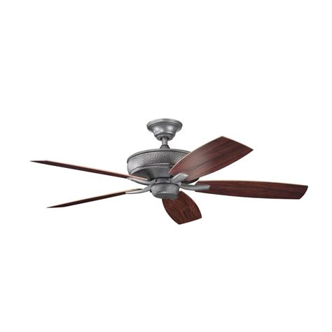 black ceiling fan kichler distressed black ceiling fan 310103dbk