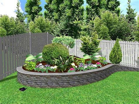 Backyard Landscape Design Ideas Gardens Houses A Small Cubtab Garden Design With Backyard Gardening Ideas Yard Front Trees