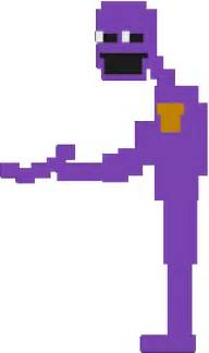 Fnaf the murderer purple man minecraft skin