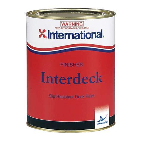 international interdeck deck paint