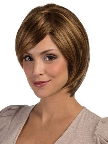 med length bob graduated layers medium length graduated layered bob wig bob lace front p4