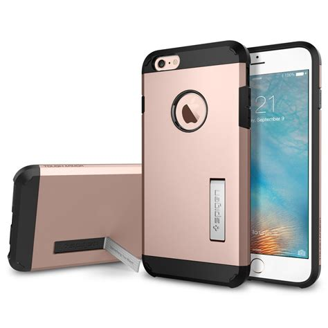 Casing Poli Smartphone Iphone 6 spigen iphone 6s plus tough armor series cases ebay