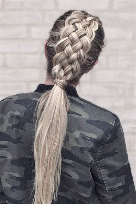 double french braid hairstyle pictures   images  facebook tumblr pinterest