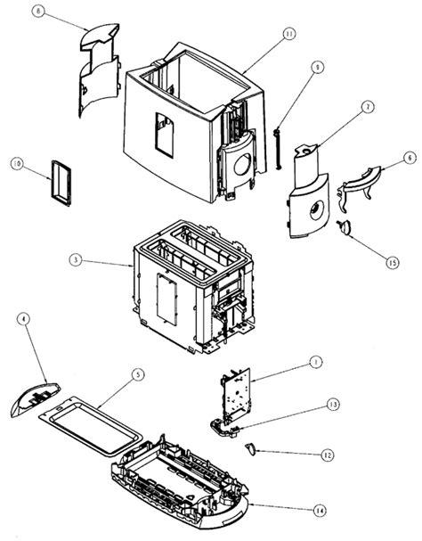 Sunbeam Toaster Parts Sunbeam 3802 000 Parts List And Diagram