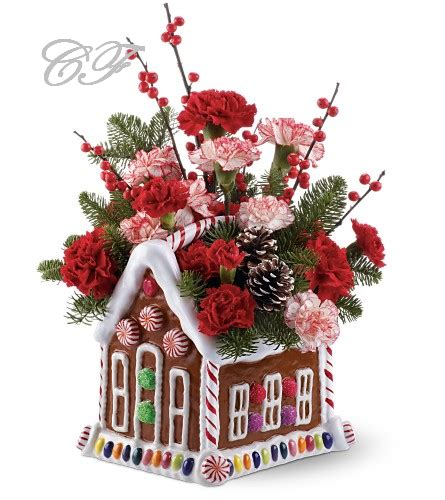 christmas flowers design 2014