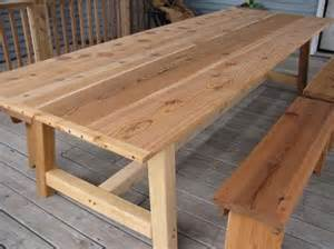 Wood Patio Table Plans Cabin Plans With Porch Lathes Wood Cedar Outdoor Dining Table Plans Learning Do Wood Carving