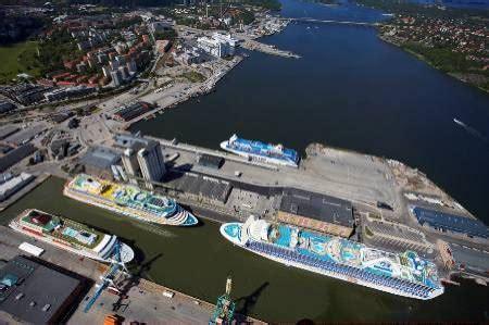porto di stoccolma porti di stoccolma si aspettano 470 000 pax