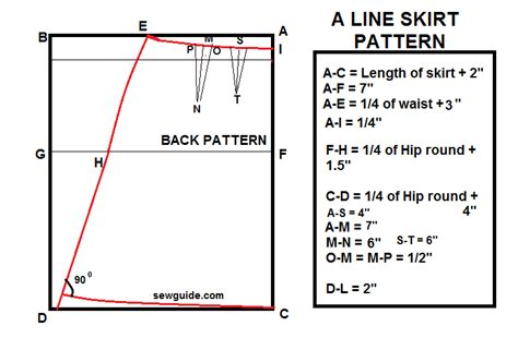 make a simple a line skirt diy pattern and sewing
