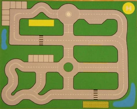 printable road play mat road plan playmat sport and playbasesport and playbase