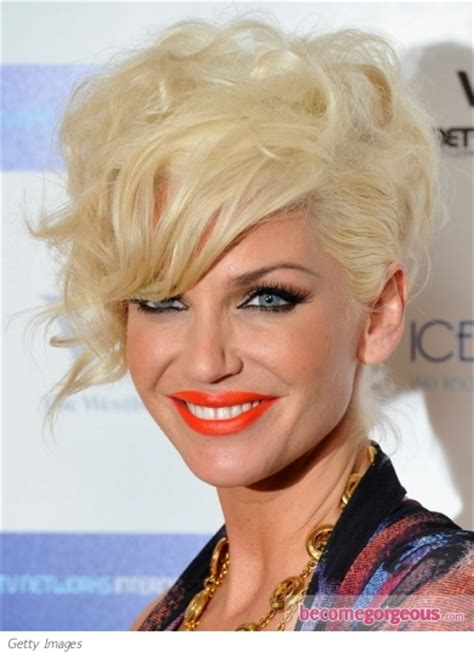 sarah harding hairstyle back view sarah harding curly updo makeup tips and fashion