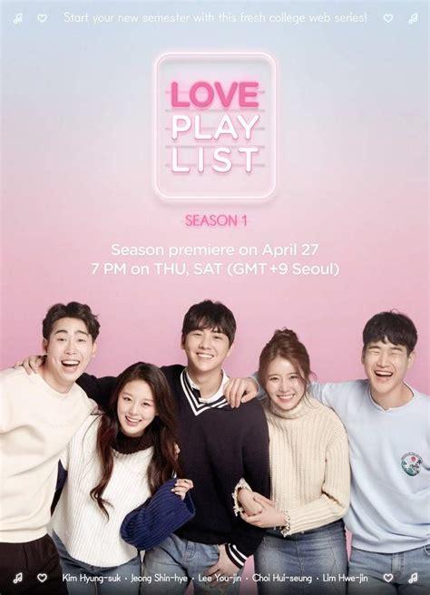 film korea love warning sayureviews love playlist season 1 2017 asian dramas