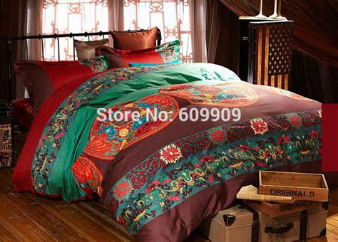 comforter stuffing egyptian cotton boho style bedding queen bohemian bedding