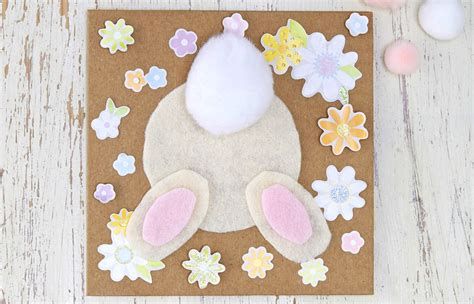 how to crate an at how to make an easter bunny card hobbycraft