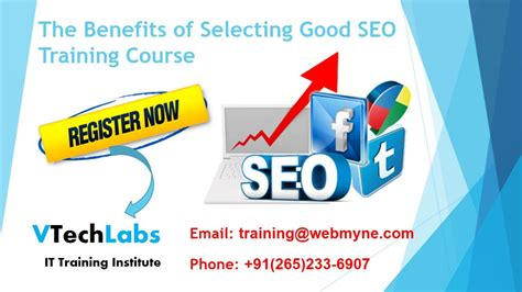 Seo Course by The Benefits Of Selecting Best Search Engine Optimization