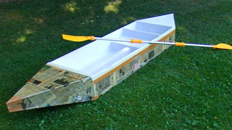 How To Make A Big Boat Out Of Paper - how to build a durable cardboard boat