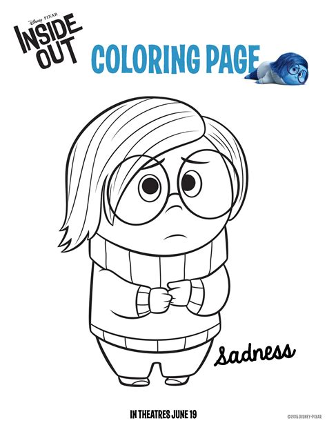 disney inside out coloring pages pdf disney s inside out movie inspired recipes and activity