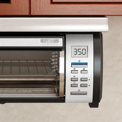 the cabinet toaster oven black decker spacemaker counter toaster oven black stainless steel tros1000d