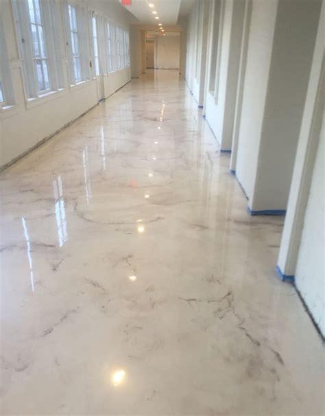Concrete Floor Epoxy by Deco Crete Studios Pearl Metallic Epoxy Floor Decorative