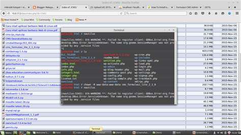 tutorial linux deploy tutorial install cms formulasi di linux puthutdewi rpl