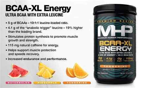 Mhp Bcaa Xl Energy 300 Gr bcaa xl energy by mhp lowest prices at strength