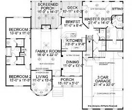 Small Ranch Style Floor Plans Functional Small Floor Plans House In The Valley
