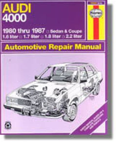 what is the best auto repair manual 1987 mercedes benz s class spare parts catalogs haynes audi 4000 1980 1987 auto repair manual