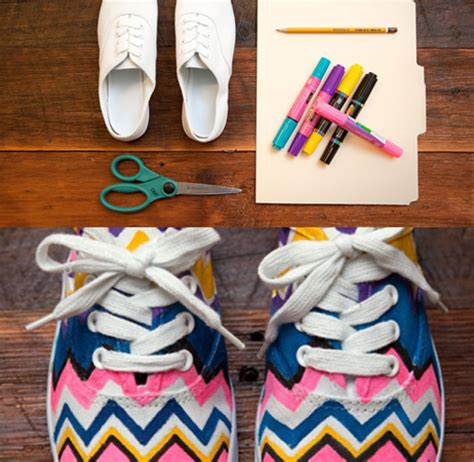 diy for shoes give your shoes a makeover with the help of these creative
