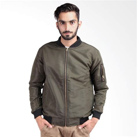 Jacket Bomber Kulit Bomber Leather Bomber Pria jual bomber jacket jackets review