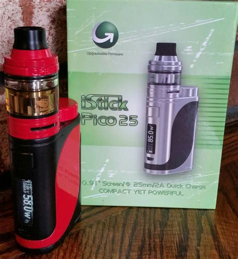 Eleaf Istick Pico Rdta Spare Parts the eleaf istick pico 25 kit a deucesjack review vaping underground forums an ecig and