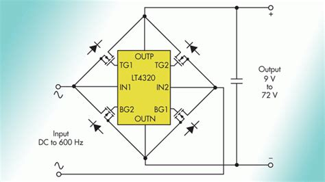 low voltage drop diode mosfet bridge rectifier made with mosfets page 1