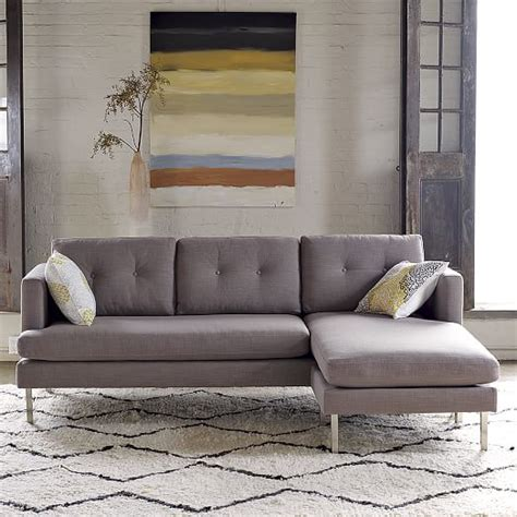 Jackson 2 Piece Chaise Sectional West Elm