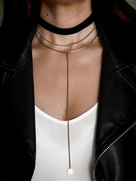 Necklace Layered Choker best 25 layered necklace ideas on layered