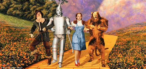themes in the wizard of oz film goodbye yellow brick road eerie abandoned land of oz