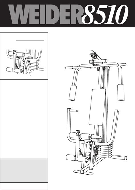 weider 8510 home user manual