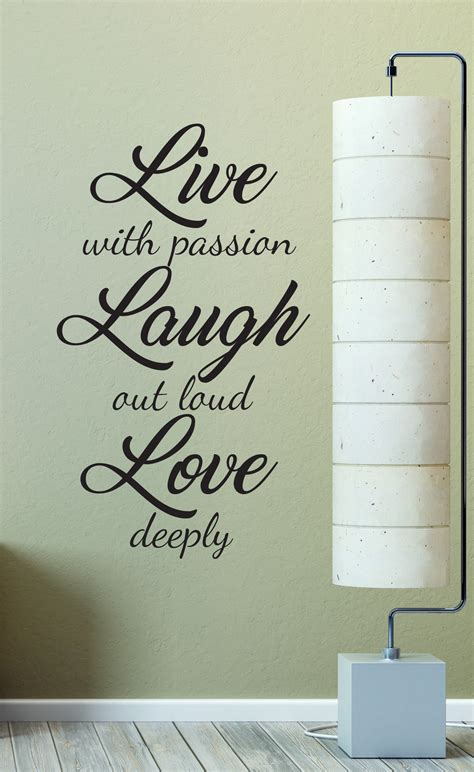 live laugh stickers for wall live laugh wall stickers peenmedia
