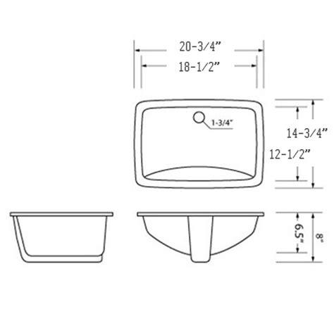 how to measure kitchen sink undermount porcelain vanity sink